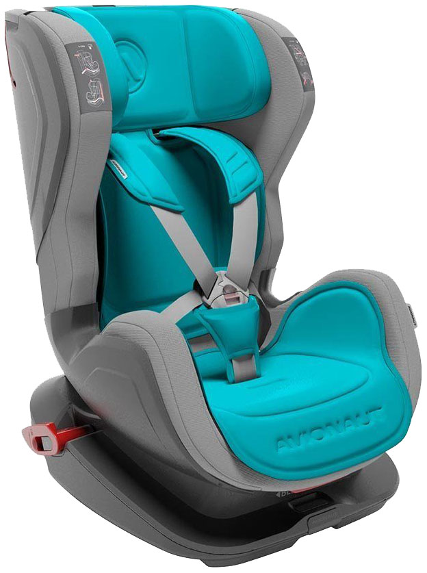 Купить Детское автокресло Avionaut Glider голубой база серая 9-25 кг,