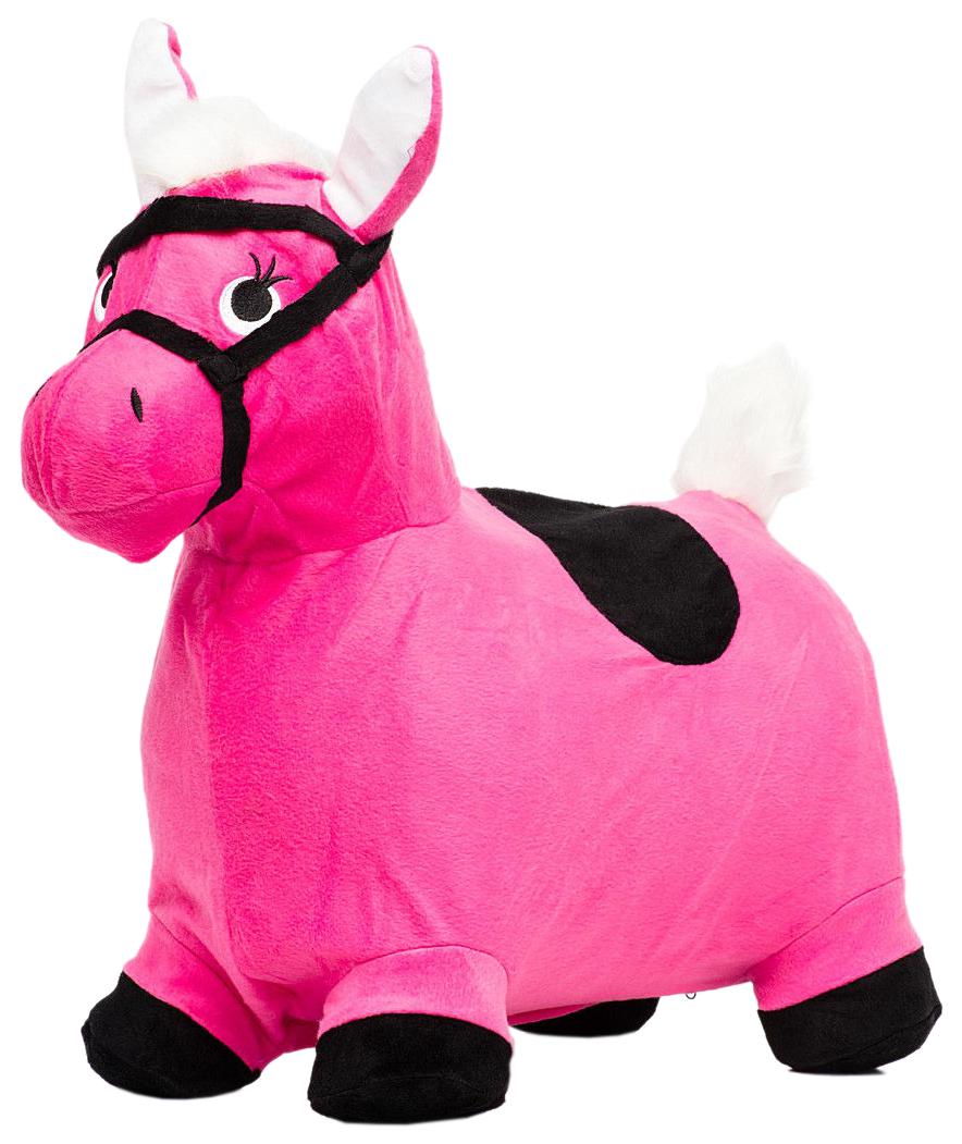 Лошадка Попрыгунчик, розовая