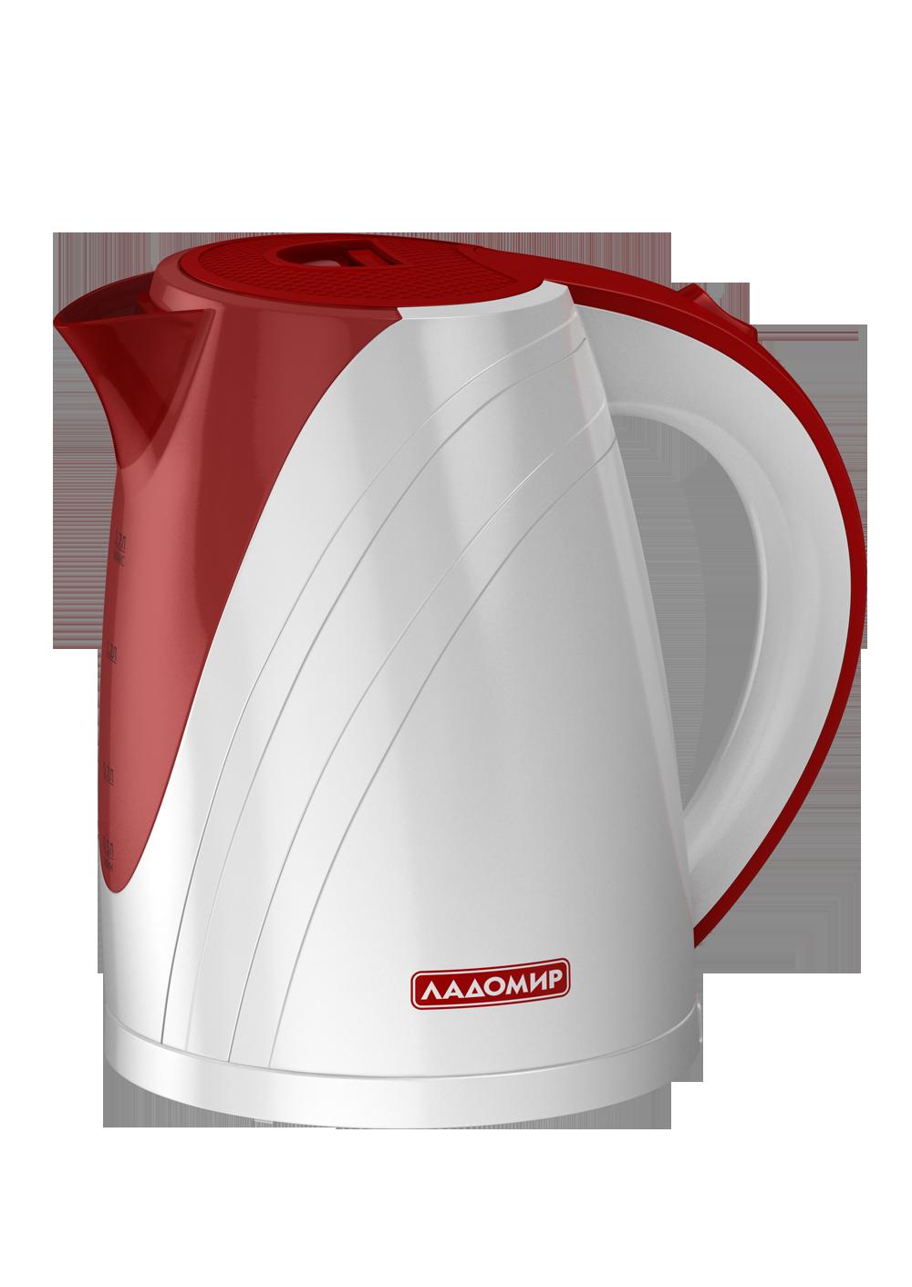 Чайник электрический Ладомир АА421 White/Red