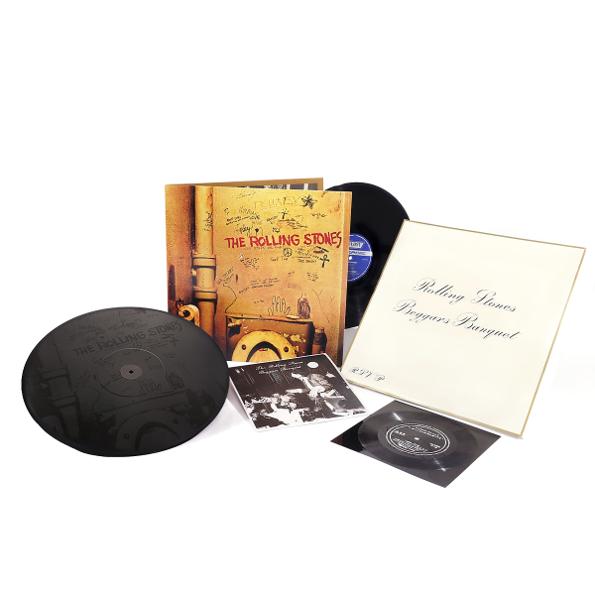 The Rolling Stones Beggars Banquet (50th Anniversary Edition)(2LP+7 Vinyl Single), Abkco  - купить со скидкой