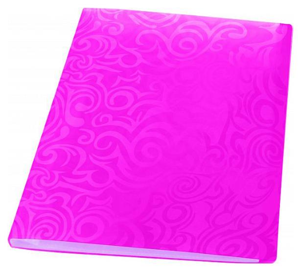 Папка с файлами Panta Plast Tai Chi, 40 файлов, плотность 700 мкр, А4, Розовый