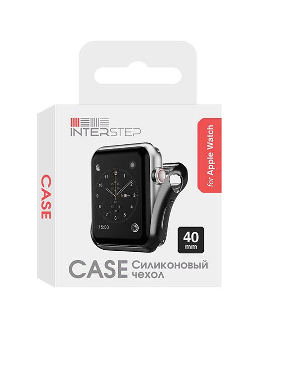 Чехол InterStep для Apple Watch 40mm Black