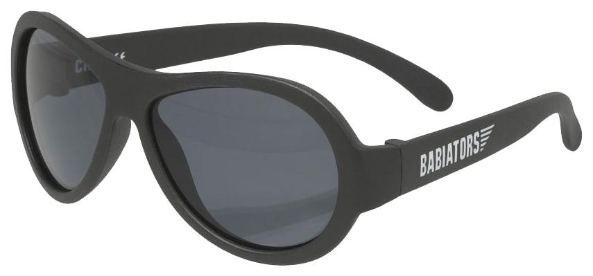 Очки Babiators (Бабиаторс) Original Aviator солнцезащитные черный спецназ (0-2) BAB-001