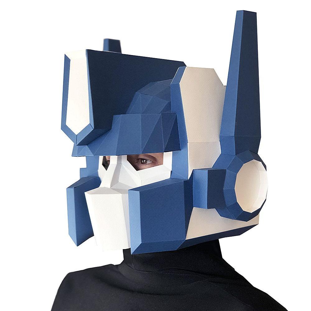 Конструктор Paperraz Маска «Оптимус Прайм»