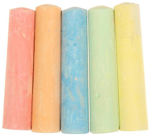 Купить Мелки для рисования, набор 15 шт, 5 цветов Школа талантов, Наборы мелков