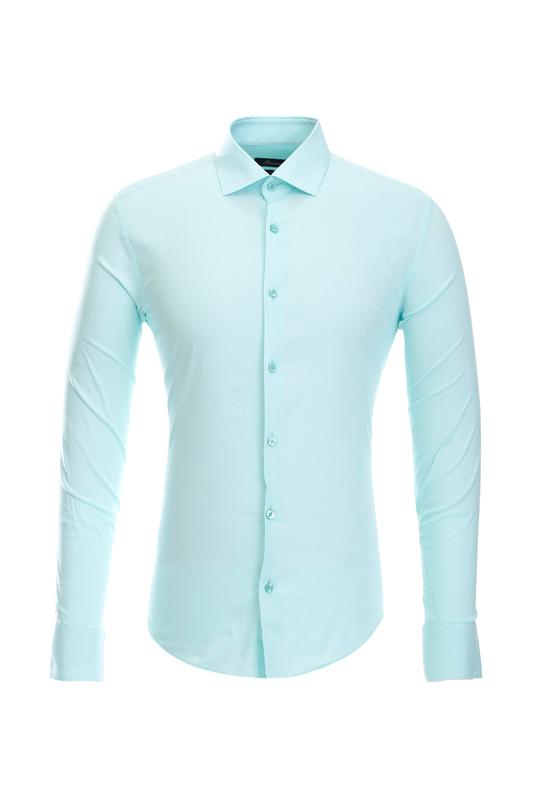 Рубашка мужская BAWER RZ2411054-08 зеленая S