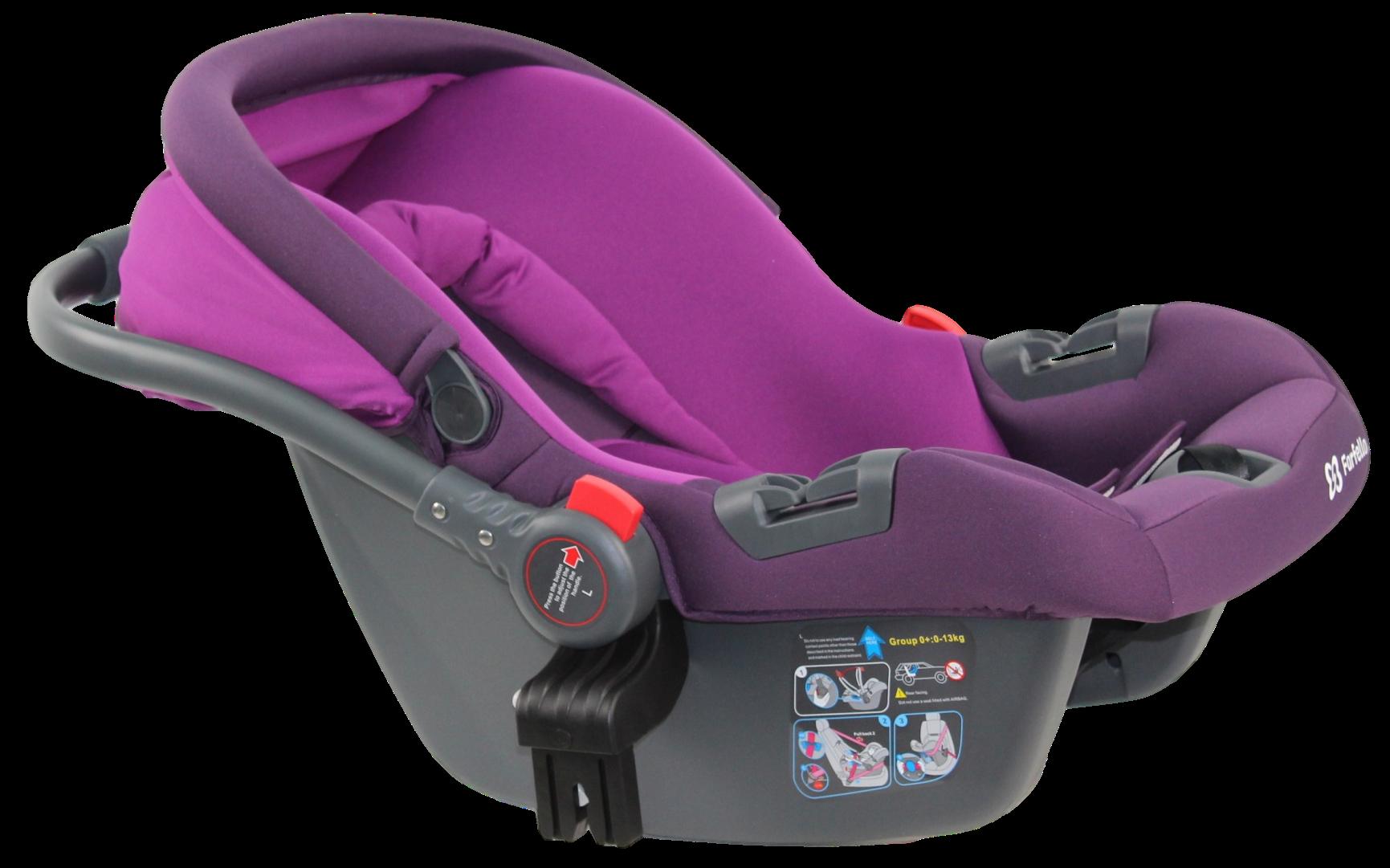 Автокресло детское Farfello, цв. фиолетовый KS-2150 ap