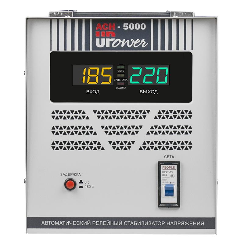 Стабилизатор напряжения UPOWER АСН 5000 II поколение фото