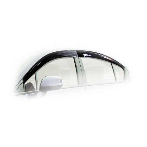Дефлекторы на окна CA Plastic для Honda Civic 2012–н.в. полупрозрачный