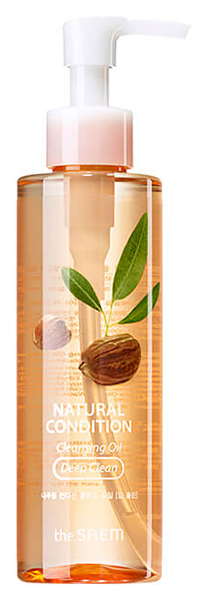 Масло для лица The Saem Natural Condition Cleansing Oil - Deep Clean 180 мл