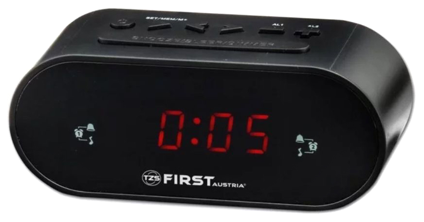 Радиочасы First 2406 5 BA Черный
