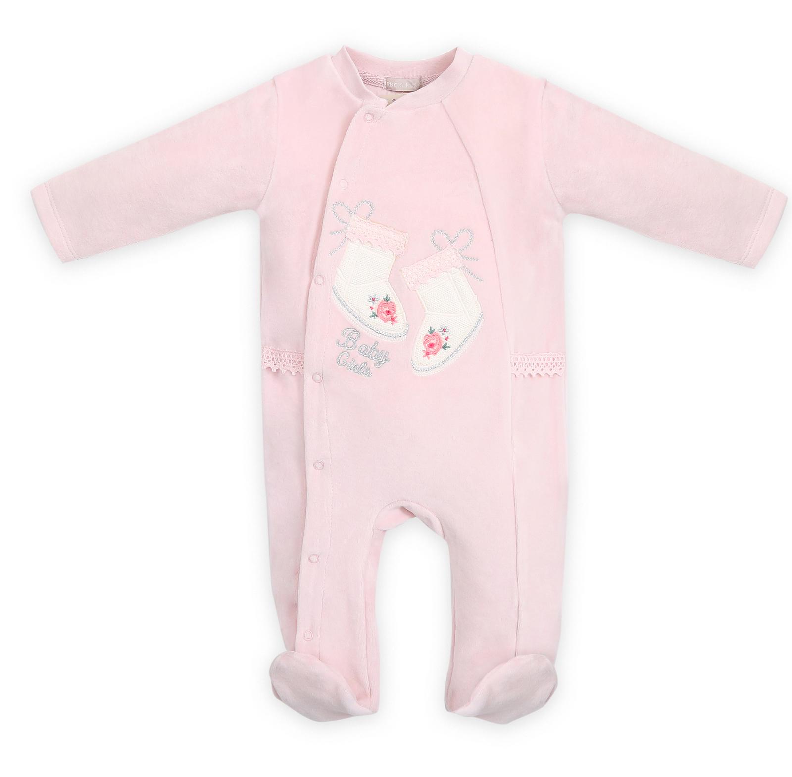 Комбинезон детский RBC МЛ 383188 розовый р.56