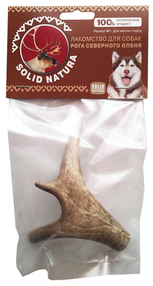 Лакомство для собак SOLID NATURA, Рога северного оленя, 45г фото
