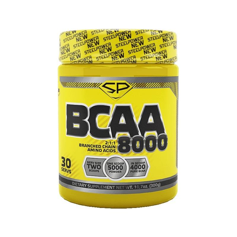 Steel Power Nutrition BCAA 8000 300 г тропик