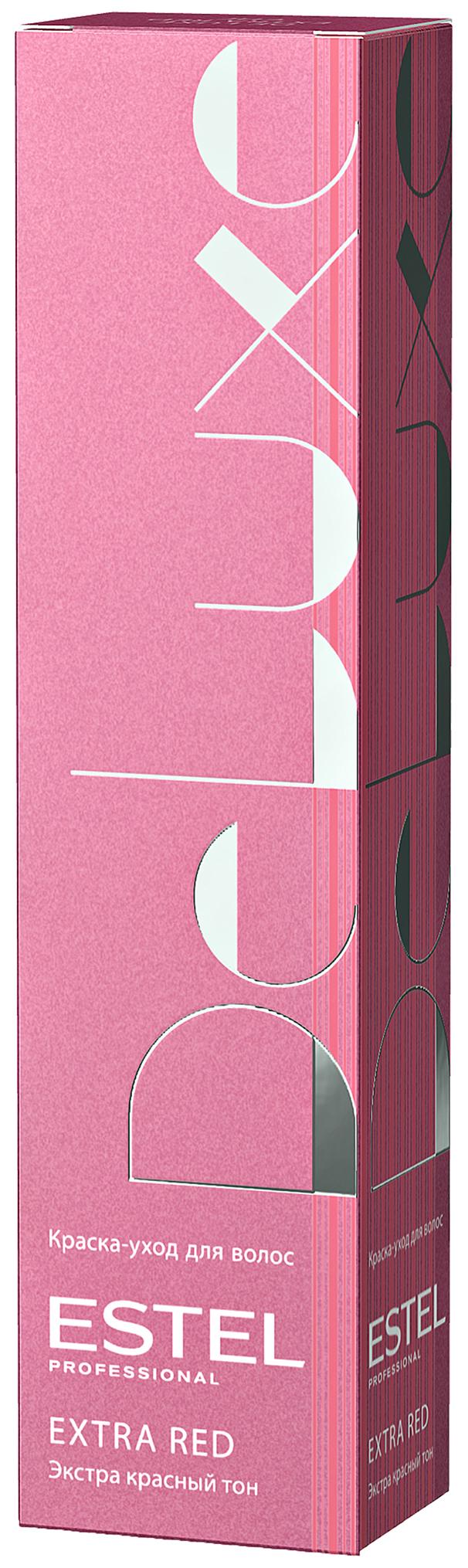 Краска для волос Estel Professional De Luxe 60 мл 66/56 Темно-русый красно-фиолетовый