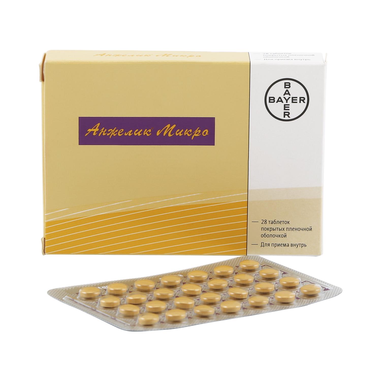 Анжелик микро таблетки, покрытые пленочной оболочкой 0,25