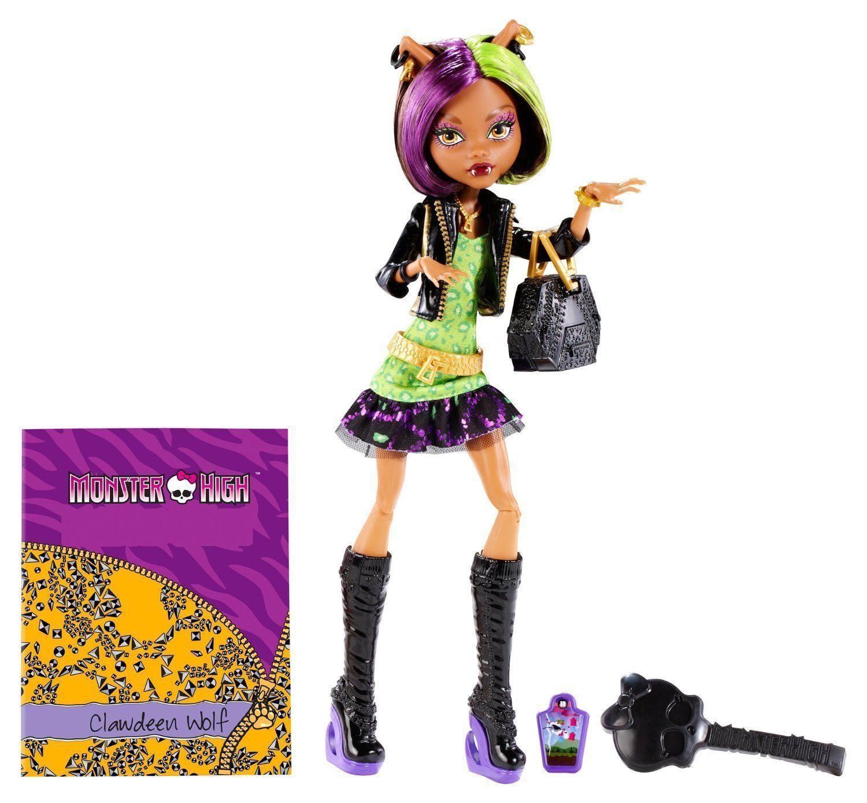 Кукла Monster High Клодин Вульф - Новый Скарместер BDD78, Классические куклы  - купить со скидкой