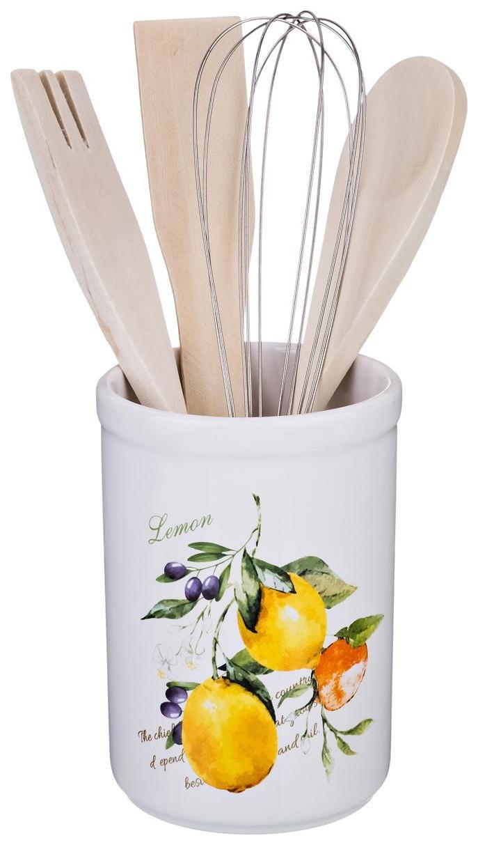Подставка для столовых приборов Lefard Итальянские лимоны