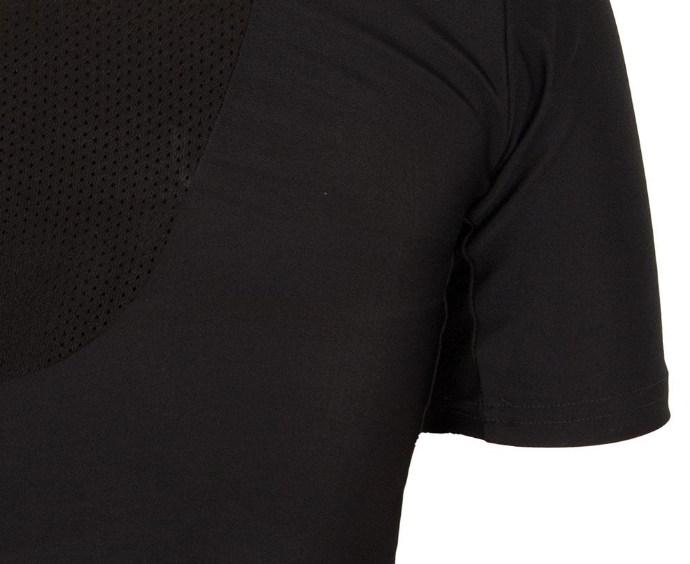 Рашгард Adidas Rush Guard Short Sleeve черная L