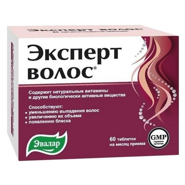 Купить Эксперт волос Эвалар таблетки 60 шт.