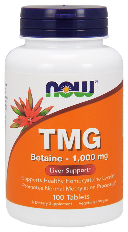 Для печени NOW Tmg 1000 мг таблетки
