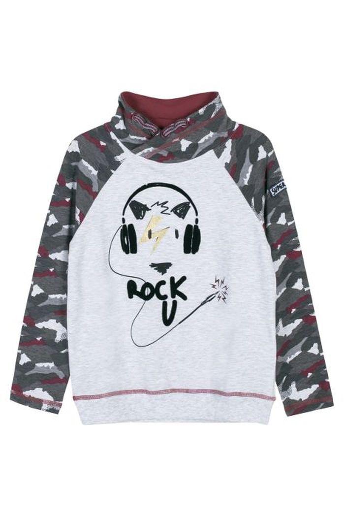 Купить Z18143103ROC, Лонгслив для мальчиков COCCODRILLO р.116, Детские футболки, топы