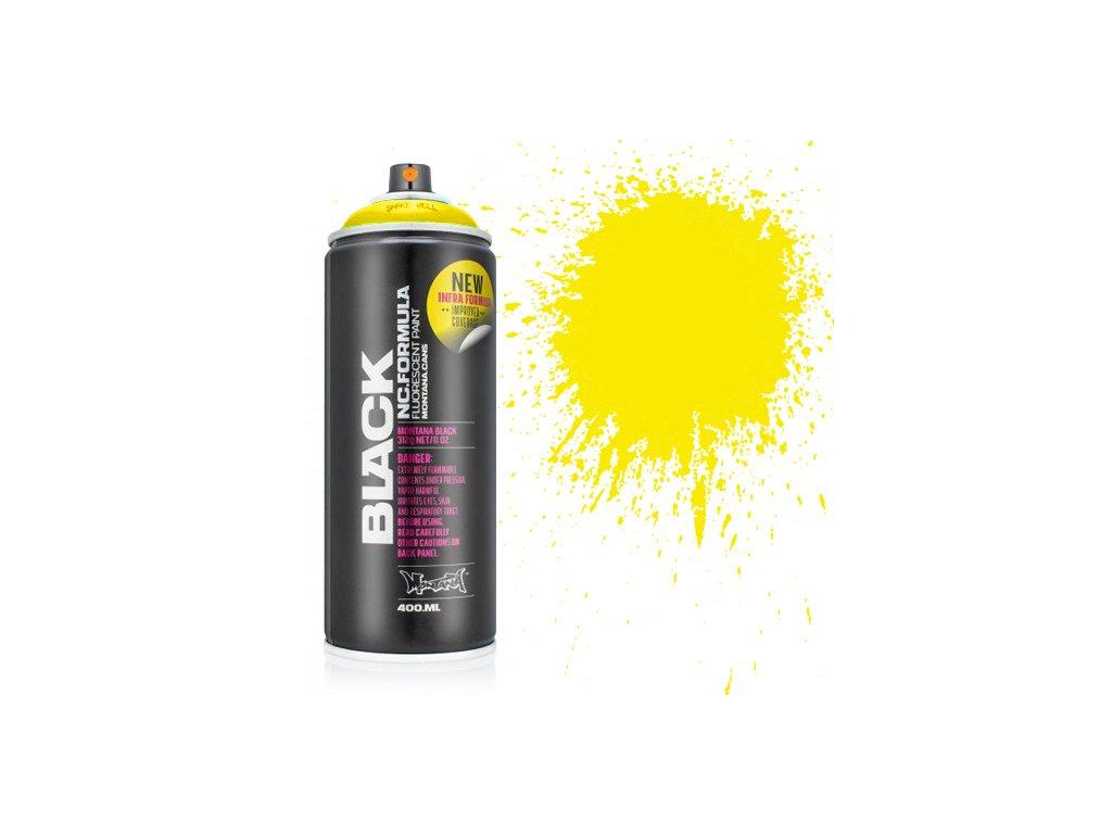 Аэрозольная краска Montana Black Infra yellow 400 мл