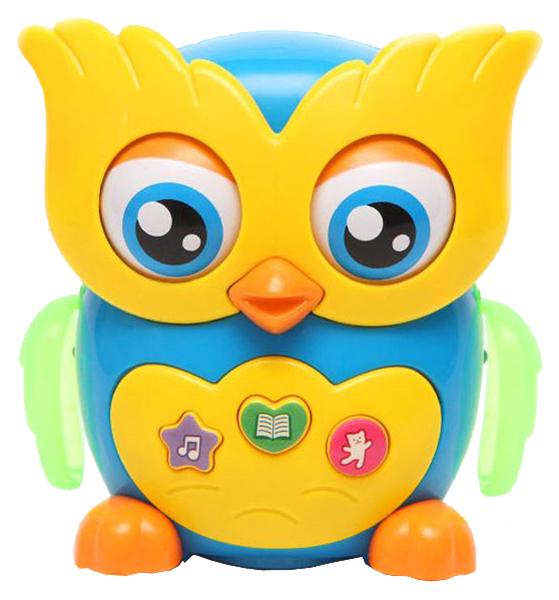Купить Азбукварик Игрушка музыкальная сова Азбукварик 28178-0, Интерактивные животные