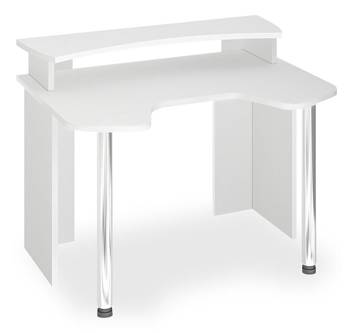 Компьютерный стол в комплекте Мэрдэс Лайт СКЛ-Игр120+НКИЛ120 120x90x70, белый фото