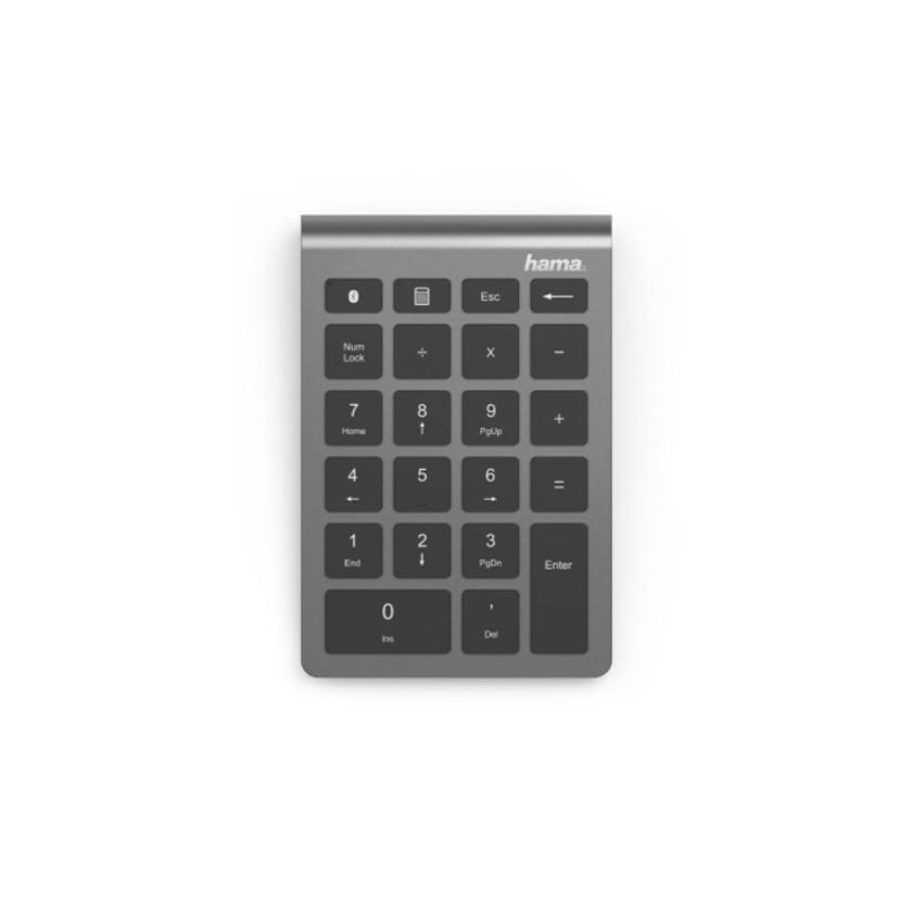 Числовой блок Hama KW-240BT Silver (00182684)