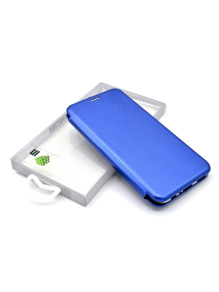 Чехол-книга INNOVATION для Samsung Galaxy A41, синий