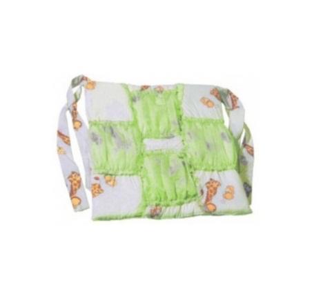 Карман прикроватный Топотушки Жираф Вилли зеленый