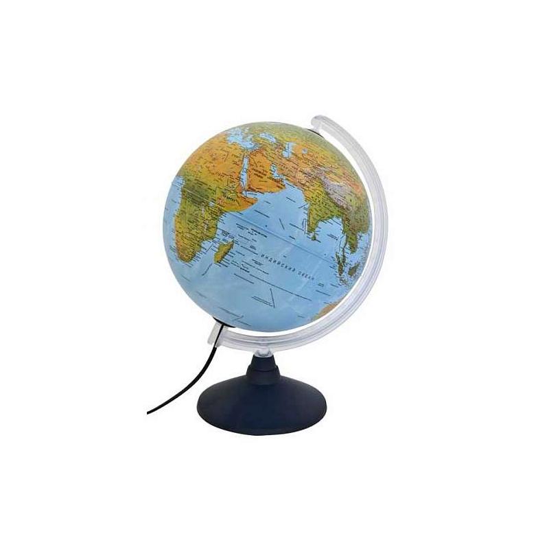 Купить Глобус ELITE с двойной картой, диаметр 30 см, новая карта, подсветка, пласт подставка и ме, Nova Rico, Глобусы