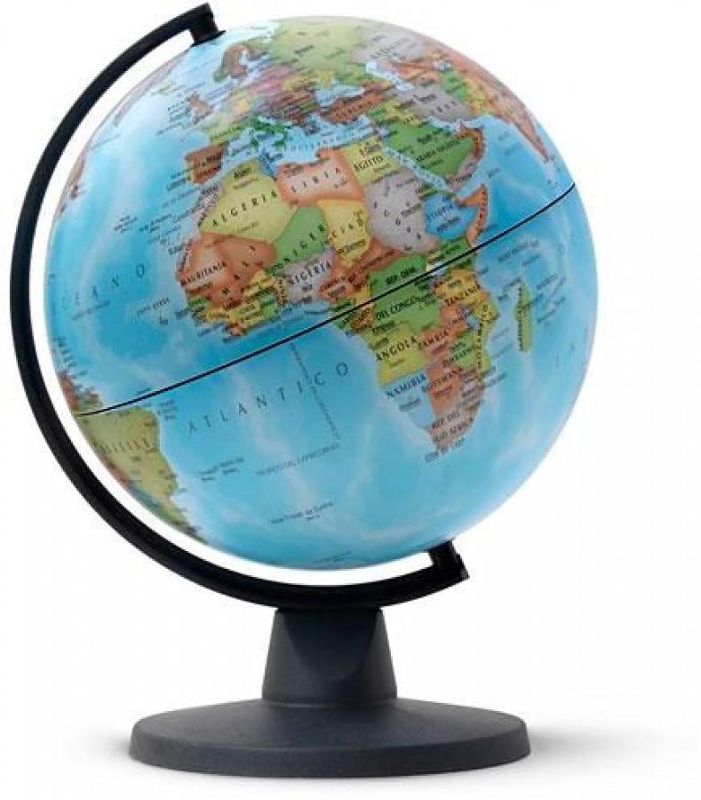 Купить Глобус MINI политический, диаметр 16 см, новая карта, Nova Rico, Глобусы