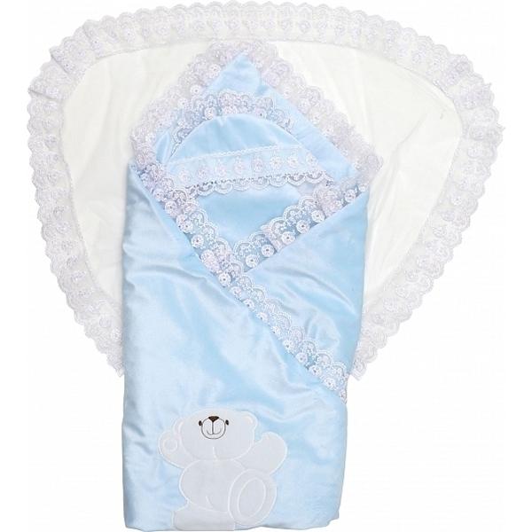 Конверт-одеяло Топотушки Умка голубой фото