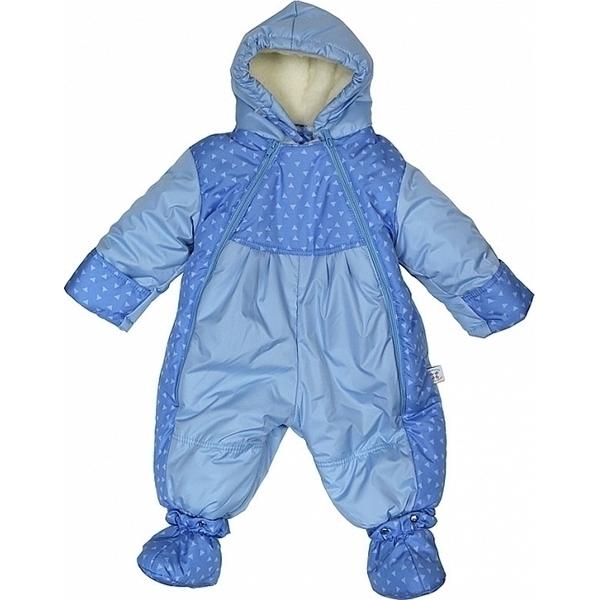 Купить Комбинезон-трансформер Топотушки Мой кроха зима/осень голубой, Комбинезоны для новорожденных