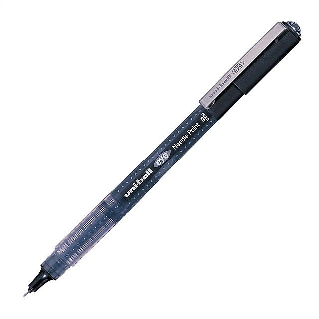 Ручка роллер Uni-Ball Eye Needle UB-185S 0,5мм (синий, 1 штука)