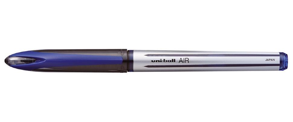 Ручка роллер Uni-Ball Air синяя 0,7мм (упаковка из 12 штук)