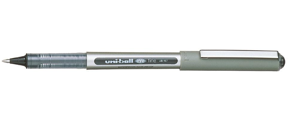 Ручка роллер Uni-Ball Eye 0,7мм (черный, 1 штука)