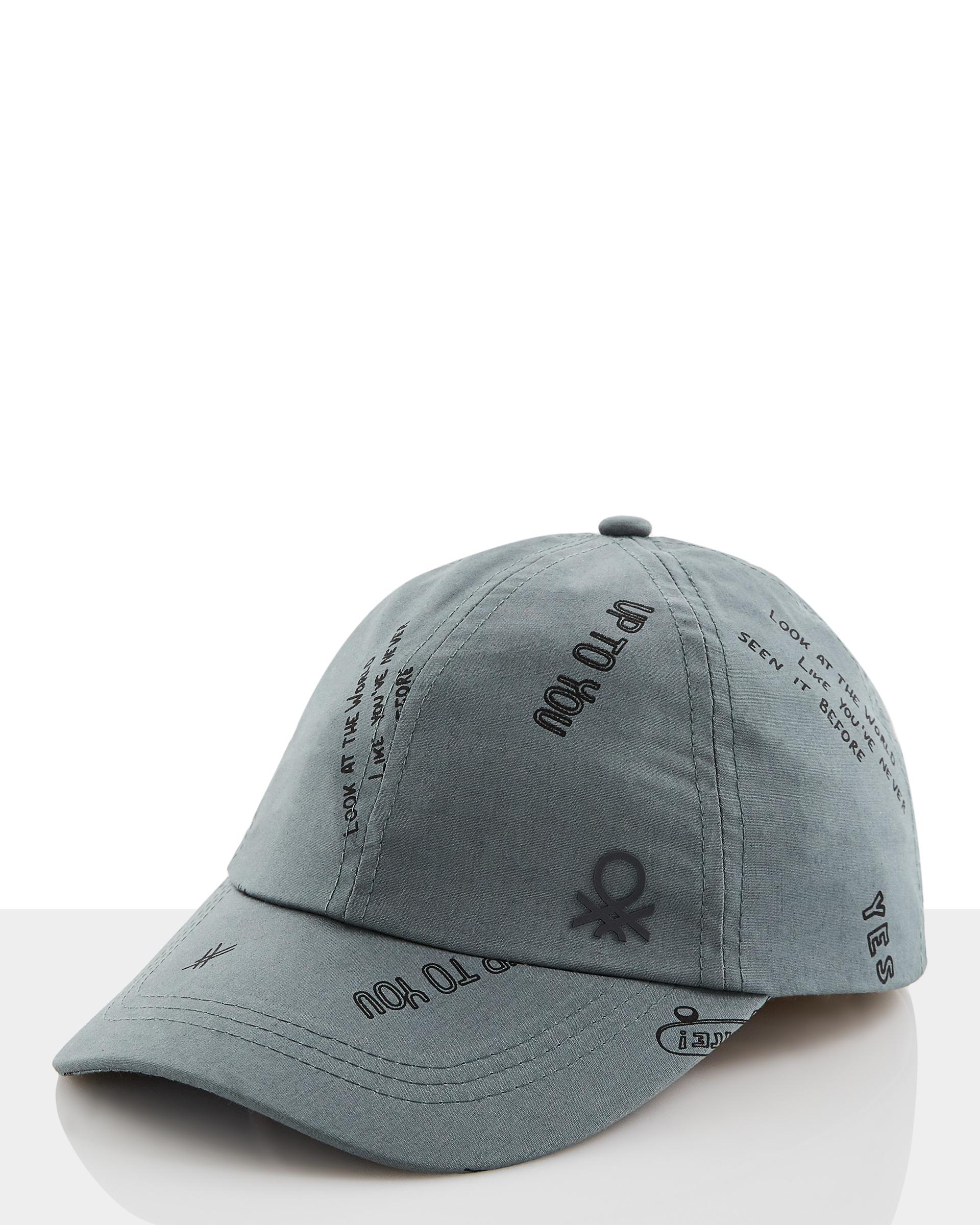 Купить 20P_6G9PB4289_903, Кепка для мальчиков Benetton 6G9PB4289_903 р-р 152, United Colors of Benetton, Детские кепки