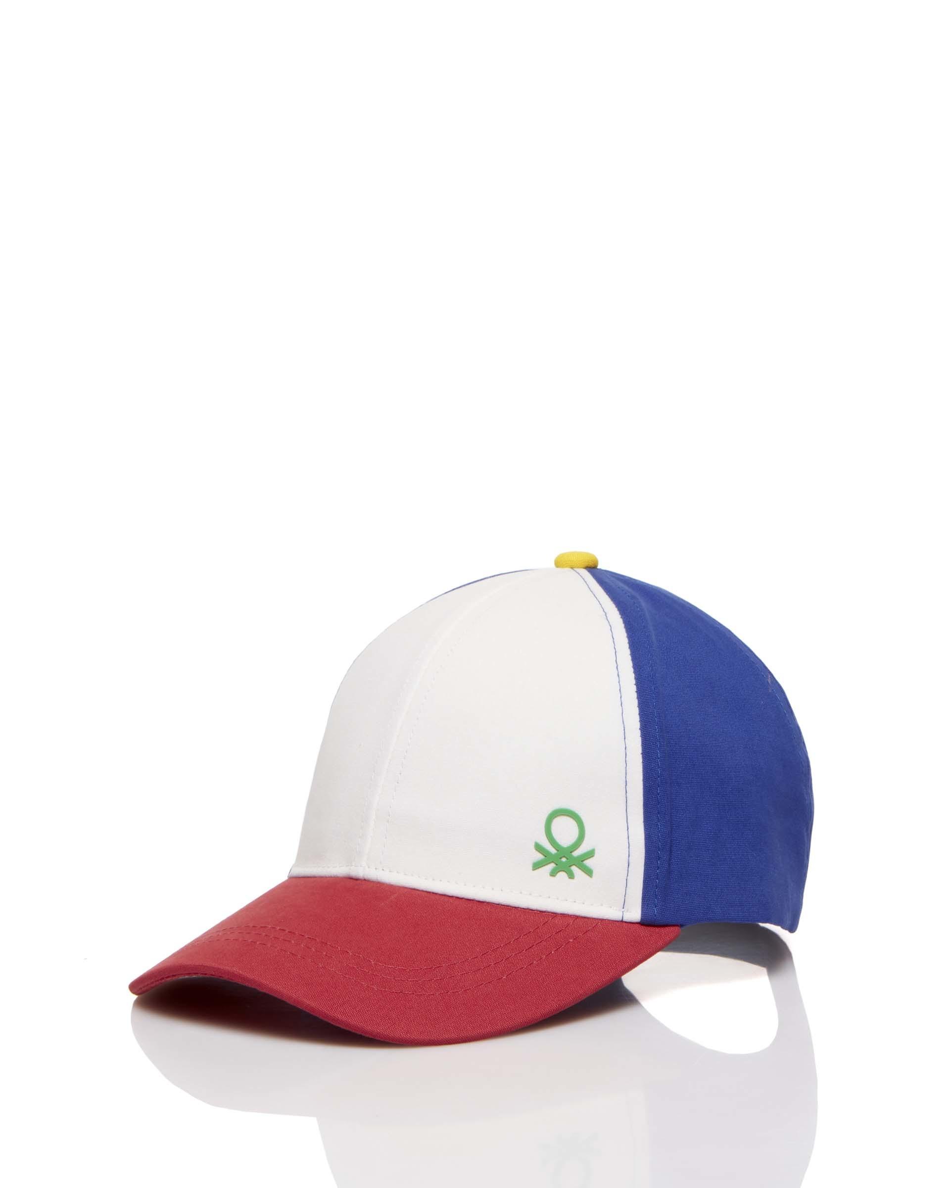 Купить 20P_6GOQB428F_901, Кепка для мальчиков Benetton 6GOQB428F_901 р-р 152, United Colors of Benetton, Детские кепки