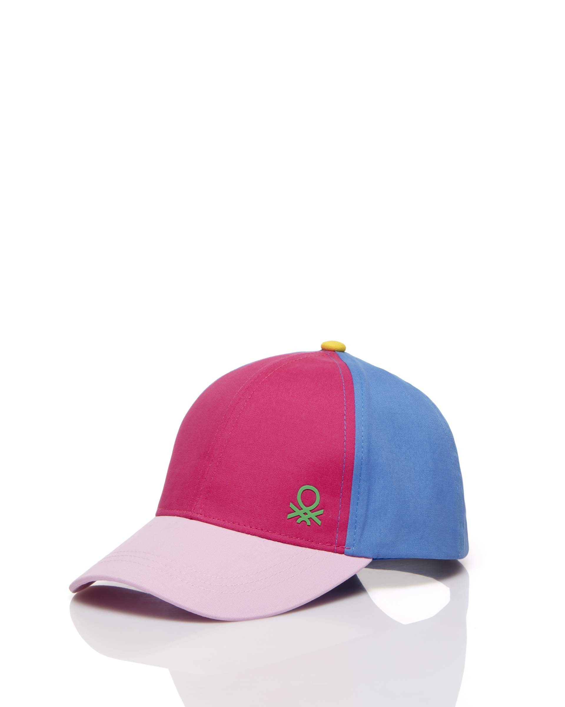 Купить 20P_6GOQB428F_902, Кепка для мальчиков Benetton 6GOQB428F_902 р-р 122, United Colors of Benetton, Детские кепки