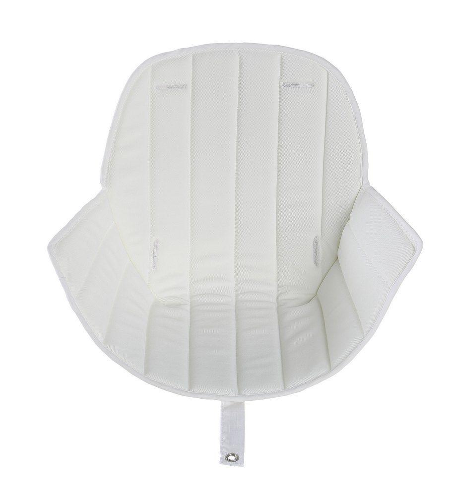 Купить Текстильный вкладыш в стульчик для кормления Micuna OVO LUXE White, Чехол на стульчик для кормления