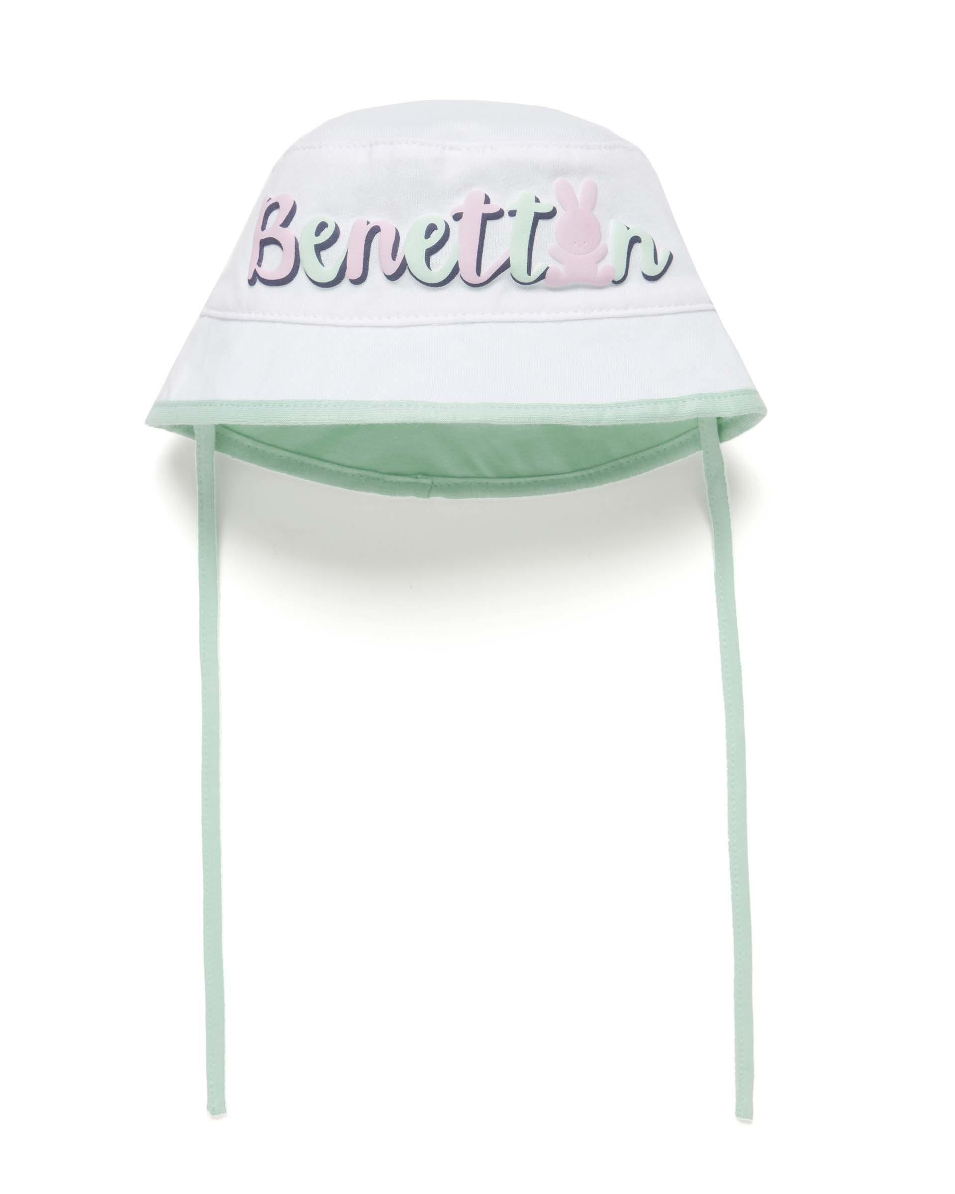 Купить 20P_6GIAN41BF_701, Панама для девочек Benetton 6GIAN41BF_701 р-р 68, United Colors of Benetton