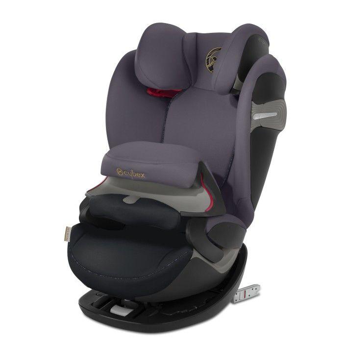 Автокресло Cybex Pallas S-Fix Premium Black группа 1/2/3
