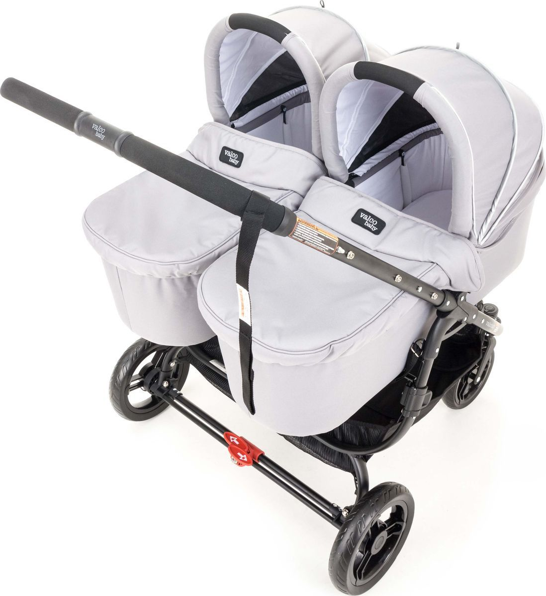 Купить Люлька Valco Baby External Bassinet Cool Grey для Snap Duo,