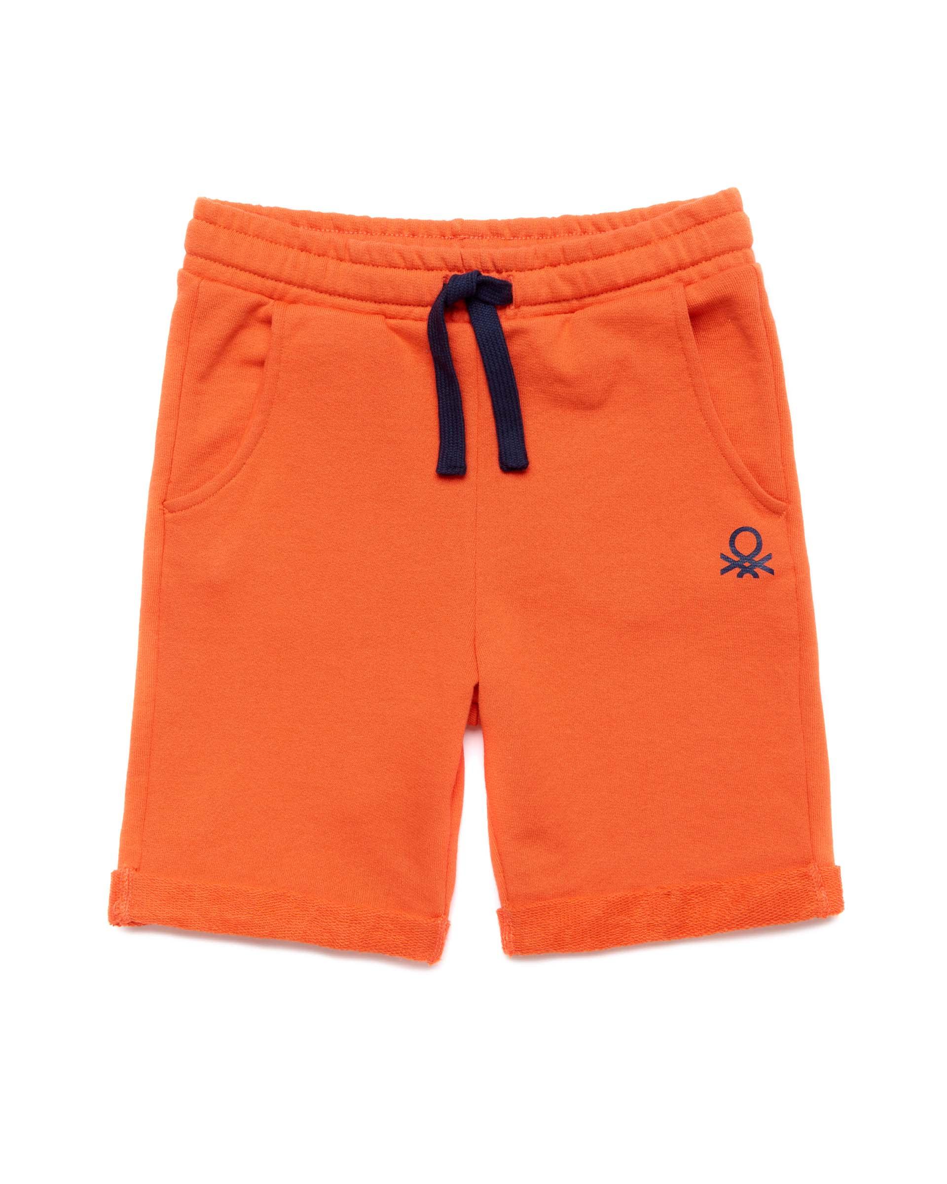 Купить 20P_3J68I0638_309, Спортивные шорты для мальчиков Benetton 3J68I0638_309 р-р 92, United Colors of Benetton, Шорты и брюки для новорожденных