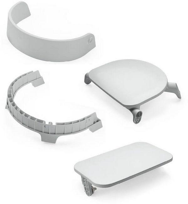 Сиденье для стула Stokke Steps Chair Seat Grey