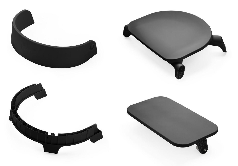 Сиденье для стула Stokke Steps Chair Seat Black