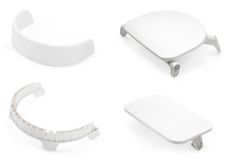 Сиденье для стула Stokke Steps Chair Seat White